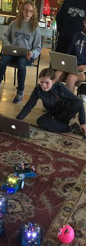 Learn to code mBots