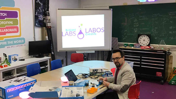 Brilliant Labs Grand Opening