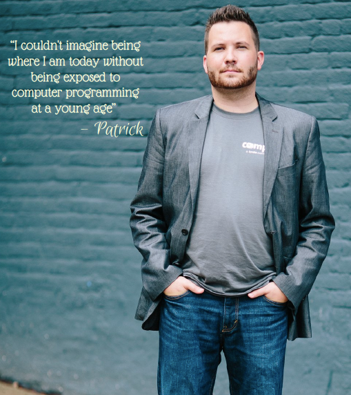 Patrick Hankinson, entrepreneur and co-founder of Compilr, a Halifax startup that