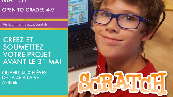 New Scratch Challenge, Community TV, Daily Activities, Author Read Aloud, Minecraft & Twitter LIVE!
