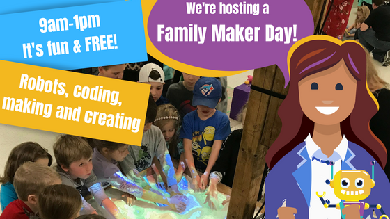 PEI Family Maker Day, March 30th.