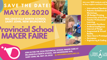 Provincial Maker Faire: Save The Date, May 26th