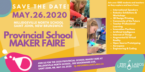 Provincial Maker Faire: Save The Date, May 26