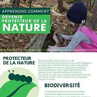 devenir protecteur de la nature