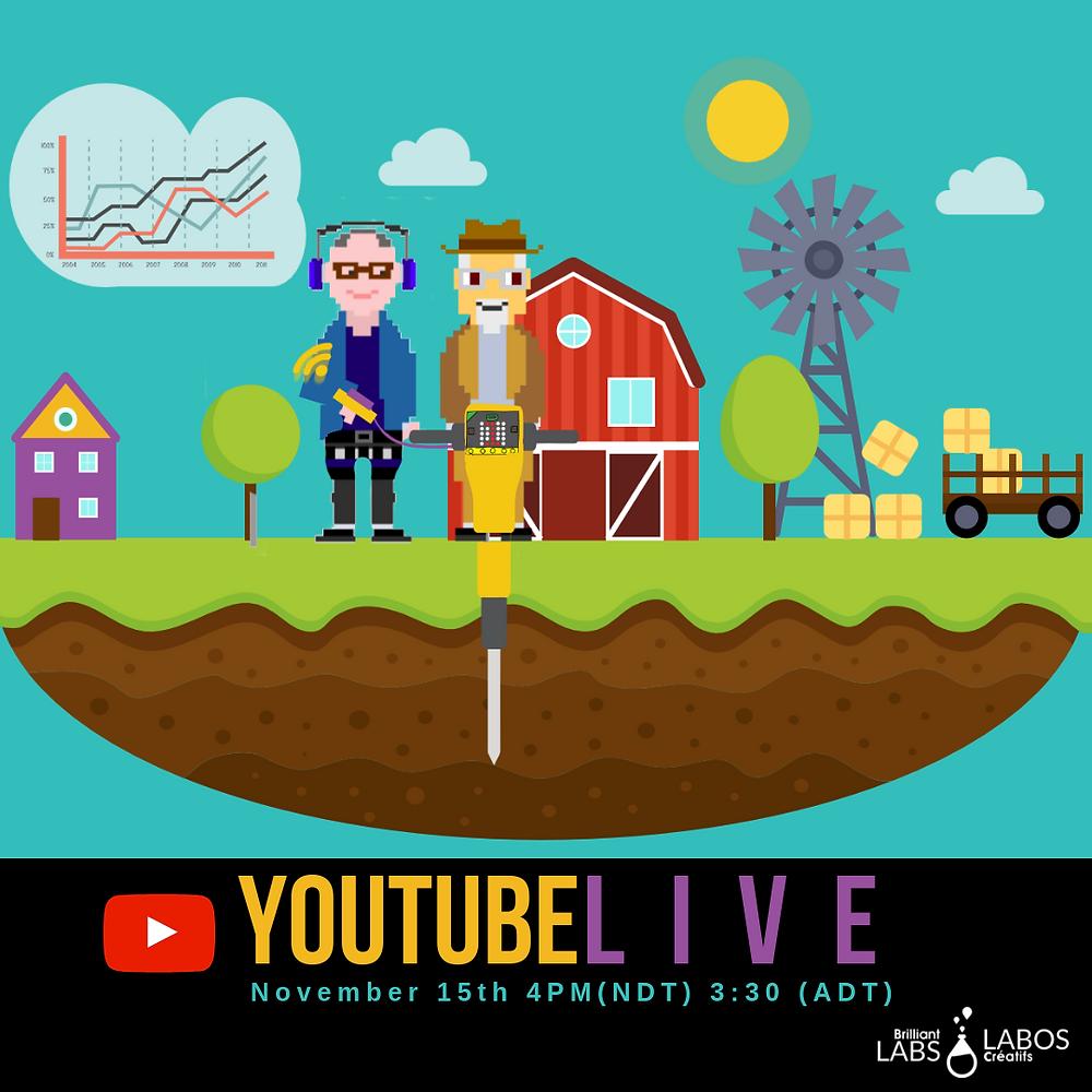 YouTubeLIVE: Soil Moisture Sensor