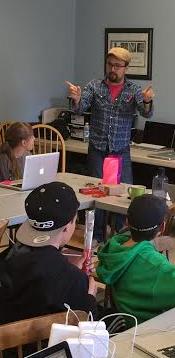 Engaging educators with fun hats