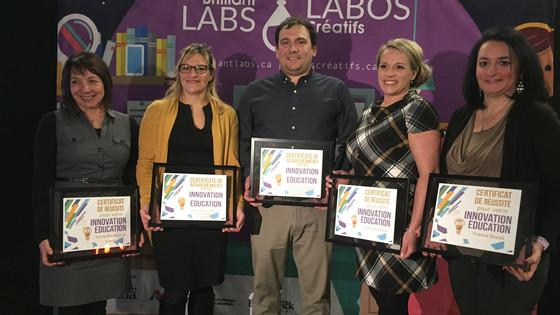 Soirée des Prix de l'Innovation en éducation à Edmundston | Innovation in Education Awards Evening i
