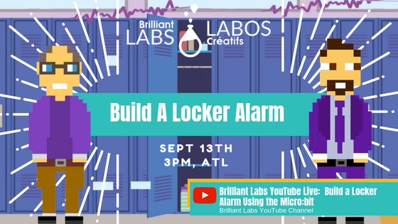 YouTube LIVE: Build A Locker Alarm
