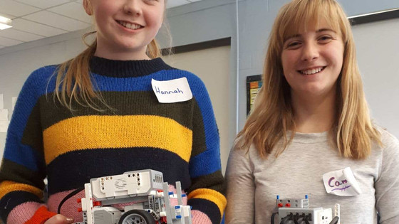 New Brunswick schools participating in the very first LEGO robotics competition!
