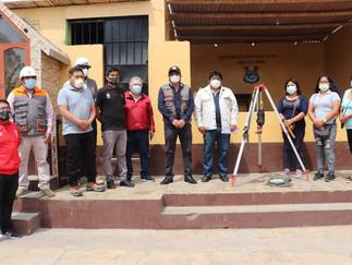 Supe: Municipio inicia obra de infraestructura de la I.E. 20517 de la Campiña