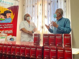 Municipalidad provincial entregó 400 unidades de Ferropen al Hospital de Barranca