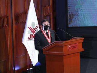 Presidente del JNE pide esperar con calma y respetar resultados de elecciones