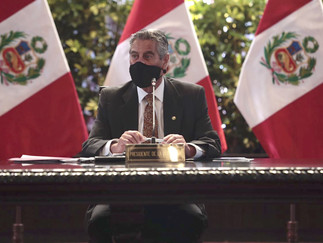 Perú suspende ingreso de vuelos de Europa durante 15 días, anuncia presidente Sagasti