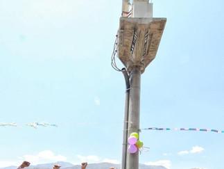 Chavarría inaugura obra de electrificación en Huarochirí