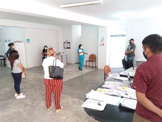 ODPE Huaura capacita a su personal sobre medidas de bioseguridad