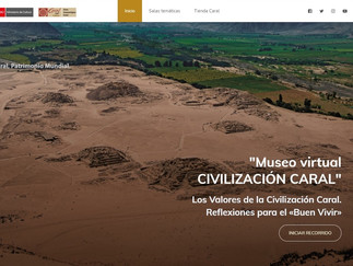 """CONOCE EL PRIMER """"MUSEO VIRTUAL CIVILIZACIÓN CARAL"""""""