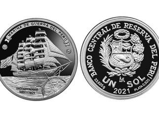BCR lanza moneda alusiva al bicentenario de la Marina de Guerra del Perú