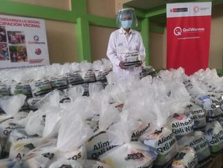 Midis Qali Warma entrega más de cinco toneladas de alimentos a Municipalidad de Santa Eulalia