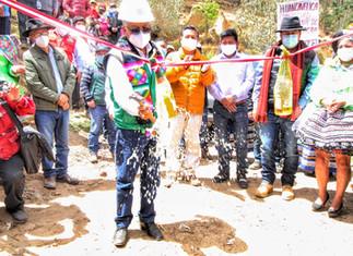 Maquinarias ejecutan carretera de integración Lima-Huancavelica-Junín