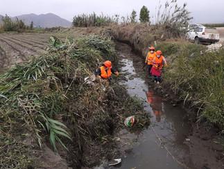 Minagri realizará mantenimiento de102 canales de riego bajo núcleo ejecutor en Barranca