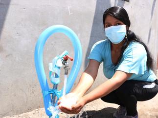 Inauguran obra de agua potable y alcantarillado en La Codicia