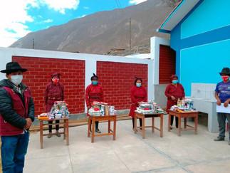 Qali Warma: Vigilantes sociales verifican distribución de alimentos en Yauyos