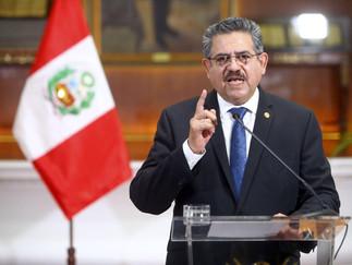 Manuel Merino renuncia a la presidencia de la República