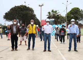 EPS Barranca renovará redes de agua y desagüe en Tello Velarde por casi S/ 1 millón
