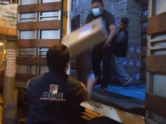 ODPE Huaura: Llega material electoral para la Segunda Elección Presidencial