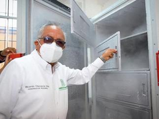 Barranca: Gobernador regional inspeccionó funcionamiento de cadena de frío para vacuna Pfizer