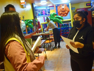 Monitorean cumplimiento de medidas de prevención en restaurantes de Barranca