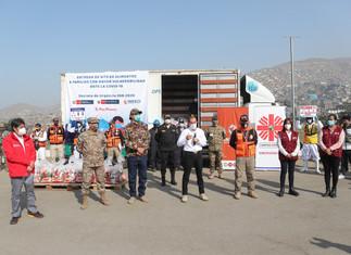 Entregan más de 240 mil canastas de víveres a población vulnerable de Lima y Callao