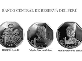 BCR pone en circulación monedas alusivas a las mujeres en la Independencia del Perú