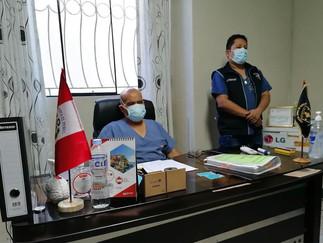 Directivo del Hospital de Barranca sostiene reunión con sociedad civil
