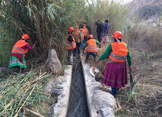 Minagri inicia mantenimiento de 25 kilómetros de canales de la cuenca del río Supe