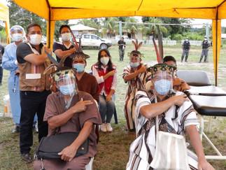 Ministerio de Cultura difunde mensajes en lenguas indígenas durante vacunación contra COVID-19