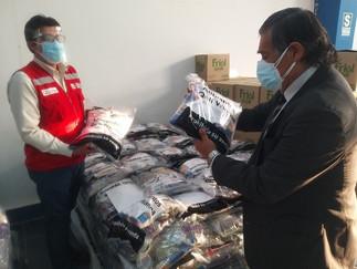 Qali Warma entrega más de 12 toneladas de alimentos a municipalidades de Végueta y Paramonga
