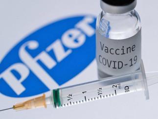 Vacunas Pfizer contra covid-19 empezarán a suministrarse el lunes