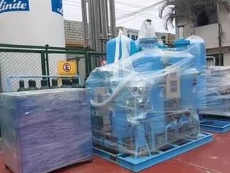 Modernos equipos para construcción de planta de oxígeno llegaron al Hospital de Barranca