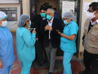 GRL logra autorización de transferencia de presupuesto pago del personal de salud