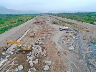 """GORE Lima construye puente modular """"El Molino"""" que soportará 40 toneladas en Supe-Barranca"""