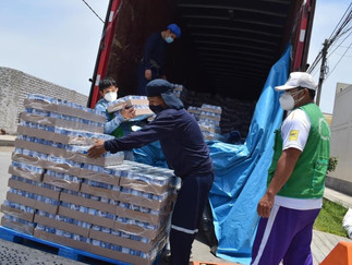 Qali Warma entregó 100 toneladas de alimentos a Barranca