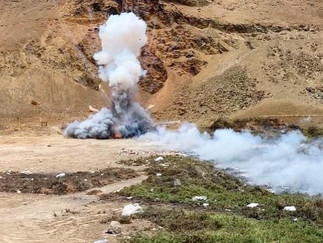 Barranca: Detonan más de 800 pirotécnicos no autorizados incautados en fiestas de Año Nuevo