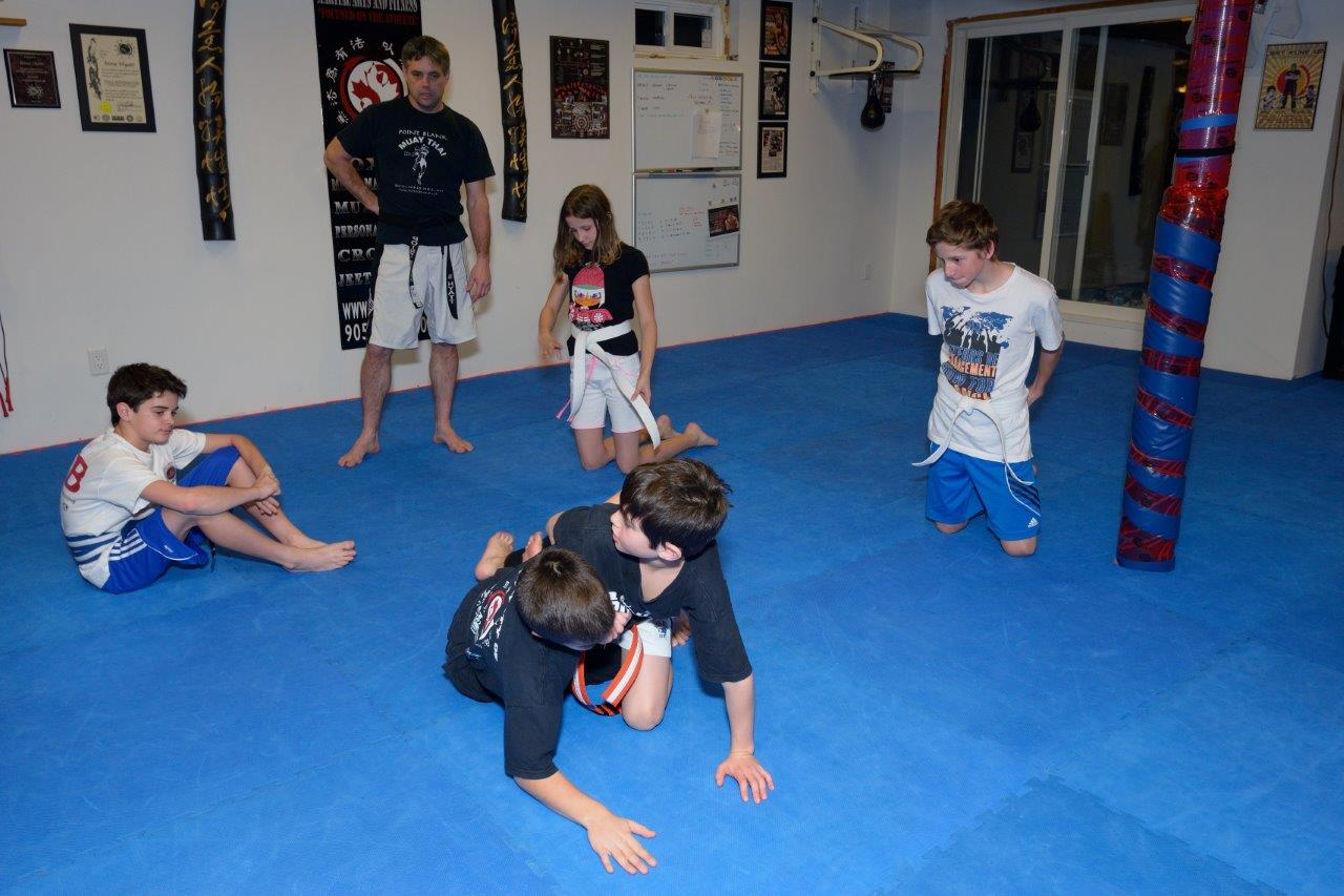 Kids Martial Arts MMA Training - Maple, Vaughan, York Region at PBMA 4