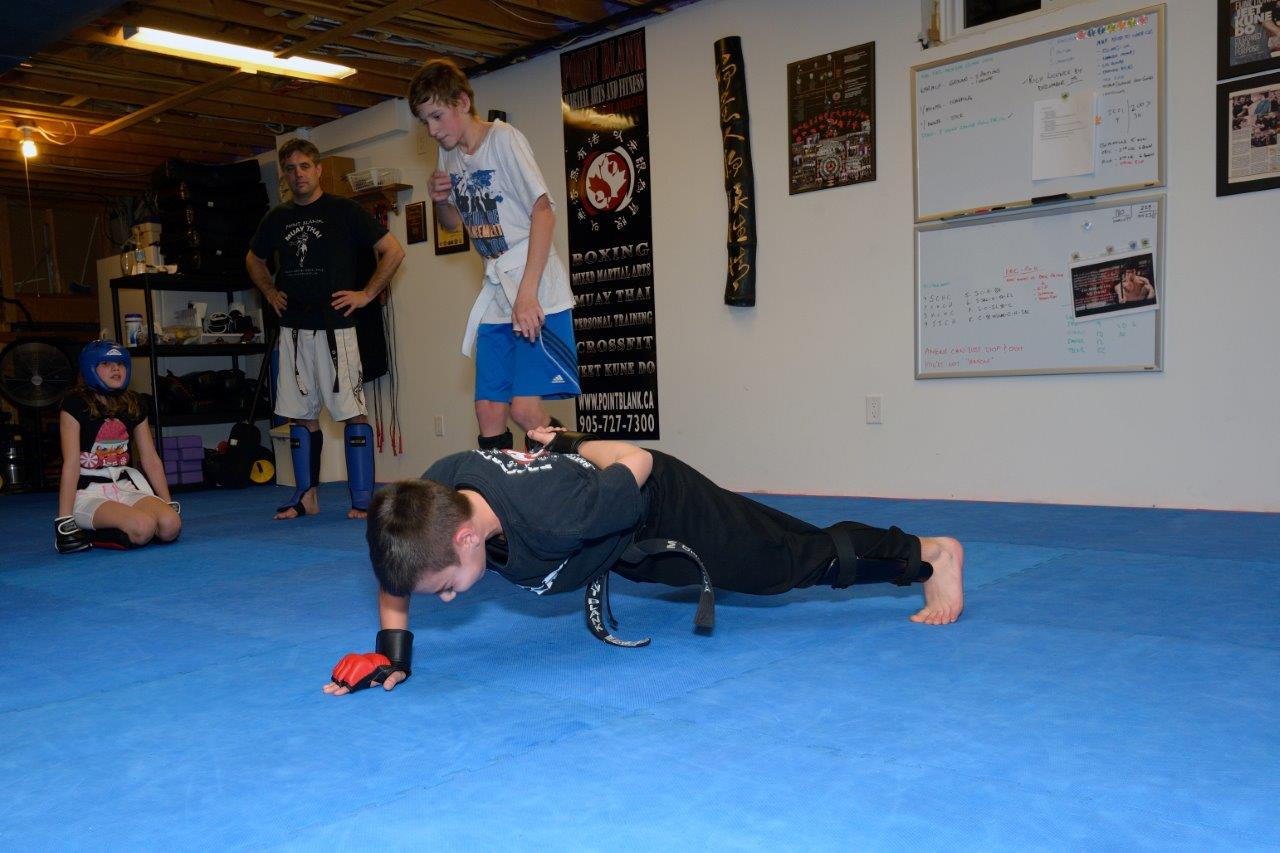 Kids Martial Arts MMA Training - Maple, Vaughan, York Region at PBMA 9