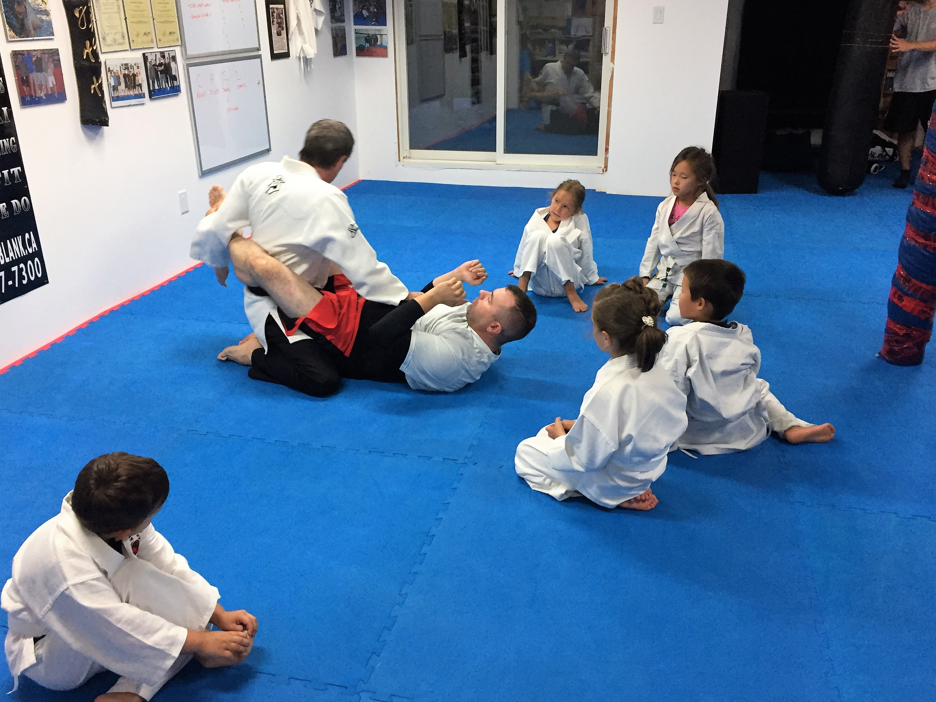 Point Blank Martial Arts - Kids Training 2