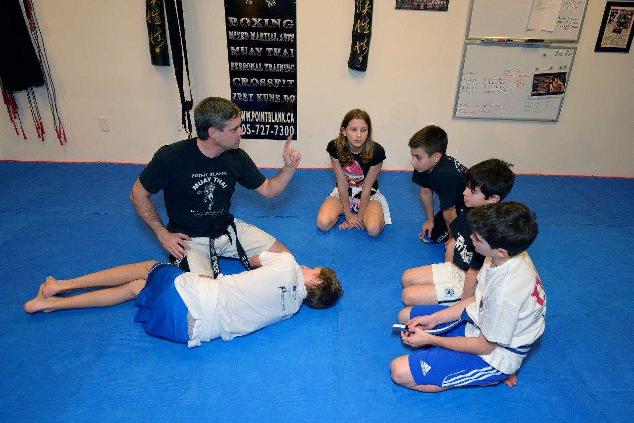 Kids Martial Arts MMA Training - Maple, Vaughan, York Region at PBMA 3