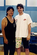 Steve Hyatt with Francis Fong