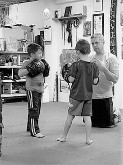 Point Blank Martial Arts - Kids JKD 34 B&W