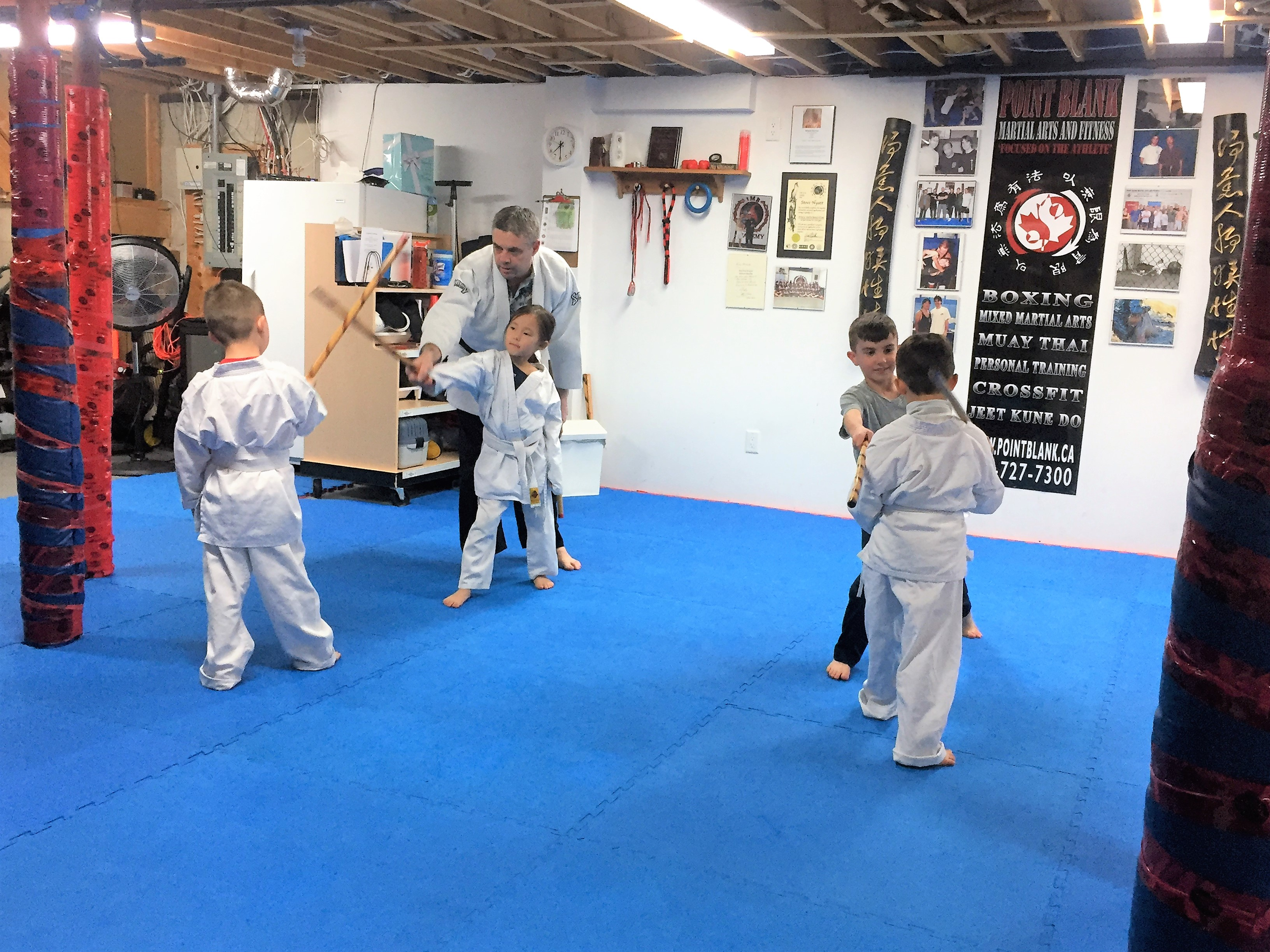 Point Blank Martial Arts - Kids JKD 31